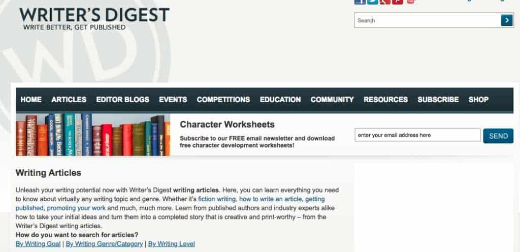 writing blogs writer's digest