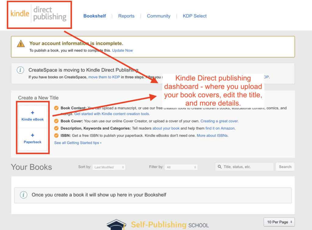 Amazon Self-Publishing: How to Publish on Amazon Step-by-Step