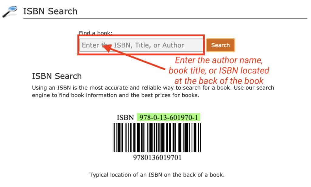 where to get isbn