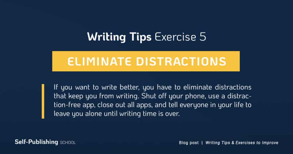 writing tip exercise